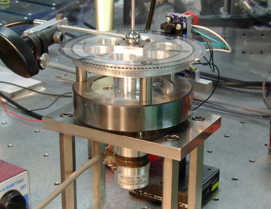 Squeeze film active bearing